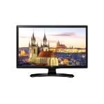 "LG 28MT49DF-PZ 27.5"" HD 250cd/m² Black A+ 10W hospitality TV"