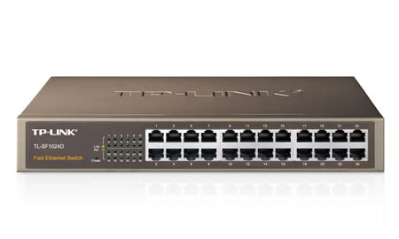 TP-LINK TL-SF1024D Unmanaged network switch