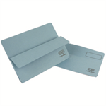 Elba Open Top Wallet Large Gussetted Capacity 30mm Foolscap Blue Ref 100090265 [Pack 50]