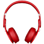 Apple Beats Mixr High-Performance On-Ear Headphone - Red, Official by Apple, (MH6K2ZM/A)