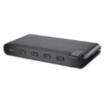 Linksys F1DN104B-3 KVM switch Black