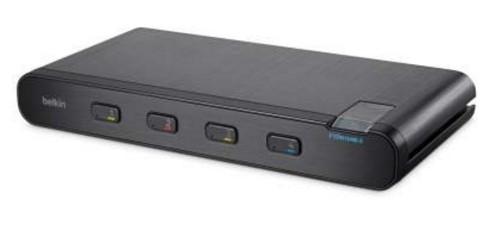 Linksys F1DN104B-3 KVM switch Black