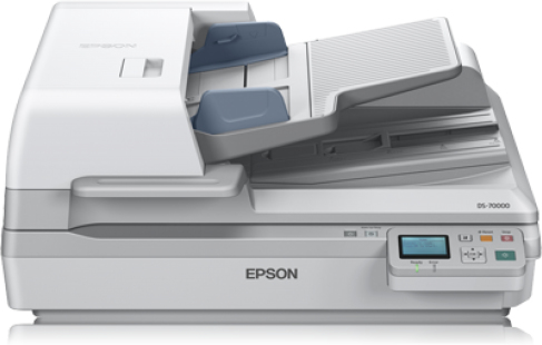 Epson WorkForce DS-70000N Flatbed scanner 600 x 600DPI A3 White