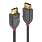 Lindy 36480 DisplayPort cable 0.5 m Black