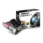 Asrock D1800B-ITX NA (integrated CPU) Mini ITX motherboard