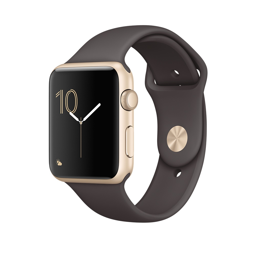 Apple Watch Series 2 OLED GPS (satellite) Gold smartwatch