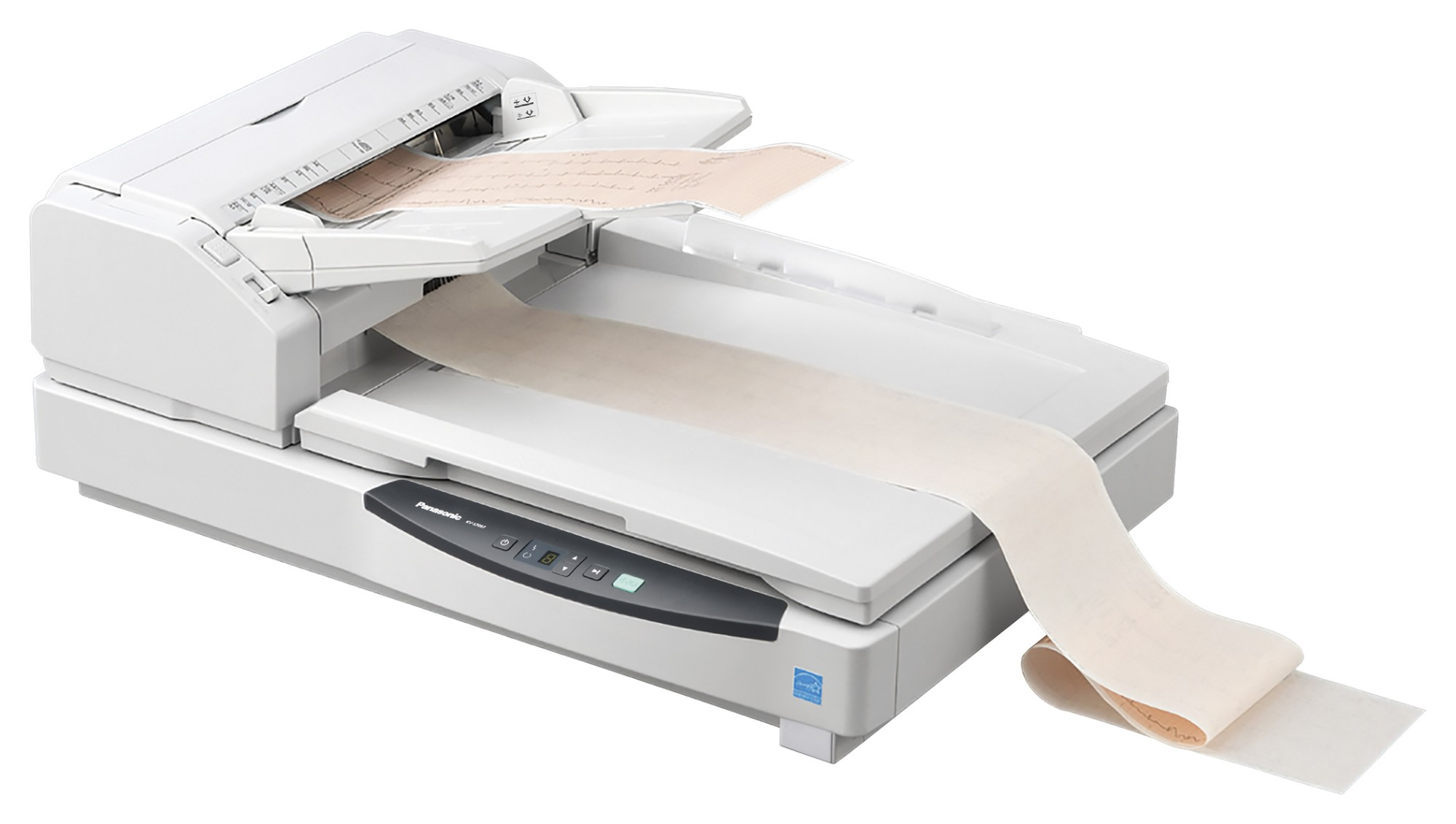 Panasonic KV-S7097 600 x 600 DPI Flatbed & ADF scanner White A3