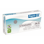Rapid Leitz Rapid Staples 26/6mm 24861800 (PK5000)