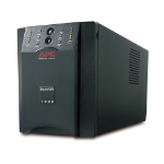 APC SUA1000XL 1000VA Black uninterruptible power supply (UPS)