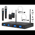 Pyle PDWM4350U Stage/performance microphone Wireless Black microphone