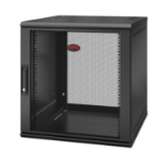 APC NetShelter WX 12U Single Hinged Wall-mount Enclosure 600mm Deep Wall mounted rack Black