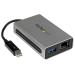 StarTech.com Thunderbolt to Gigabit Ethernet plus USB 3.0 - Thunderbolt Adapter