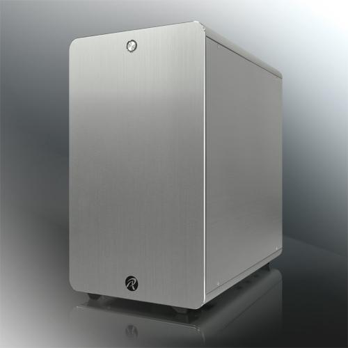 RAIJINTEK Thetis Classic Midi-Tower Silver computer case
