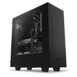 NZXT S340 Midi-Tower Black computer case