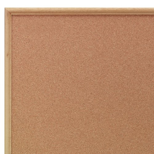 Nobo Classic Cork Noticeboard Wood Frame 1800x1200mm