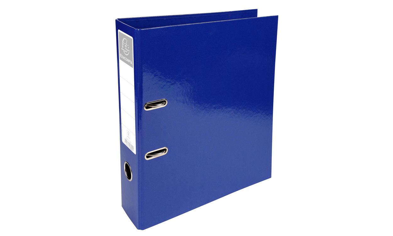 Iderama Lever Arch File 32x30cm 70mm Spine Blue PK10