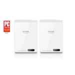 D-Link DHP-701AV/E PowerLine network adapter Ethernet LAN Wi-Fi White 2 pc(s)