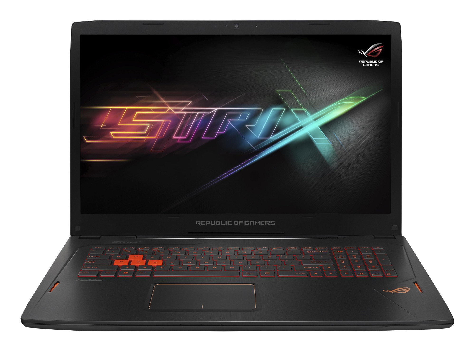 "ASUS ROG Strix GL702VI-BA016T 2.8GHz i7-7700HQ 17.3"" 1920 x 1080pixels Black Notebook"