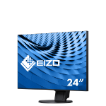 "EIZO FlexScan EV2451 23.8"" Full HD LED Flat Black computer monitor"