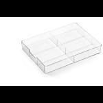Durable 338419 Acrylic Transparent desk drawer organizer