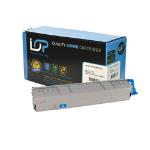Click, Save & Print Remanufactured Oki 44059255 Cyan Toner Cartridge