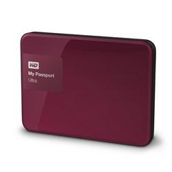 Western Digital My Passport Ultra 3000GB Red