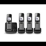 Panasonic KX-TGD324E DECT telephone Caller ID Black