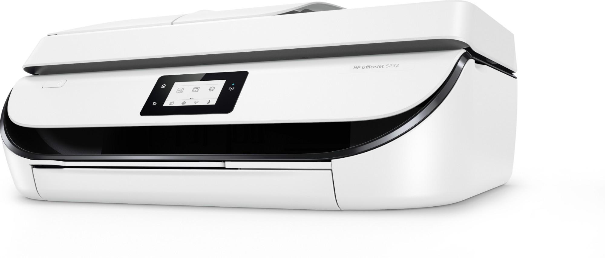 HP OfficeJet 5232 Inkjet 10 ppm 1200 x 1200 DPI A4 Wi-Fi