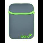 """Tolino 2400002625405 6"""" Skin case Green,Grey e-book reader case"""