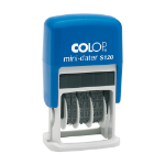 Colop Mini-Dater S 120 Traditional Date stamp Rubber