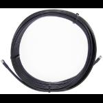 Cisco 15m LL LMR 240 15m TNC Male TNC Female Black coaxial cable