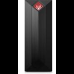 HP OMEN Obelisk 875-0075na AMD Ryzen 7 3700U 16 GB DDR4-SDRAM 2256 GB HDD+SSD Black Tower PC