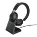 Jabra Evolve2 65, UC Stereo Auriculares Diadema USB tipo A Bluetooth Negro