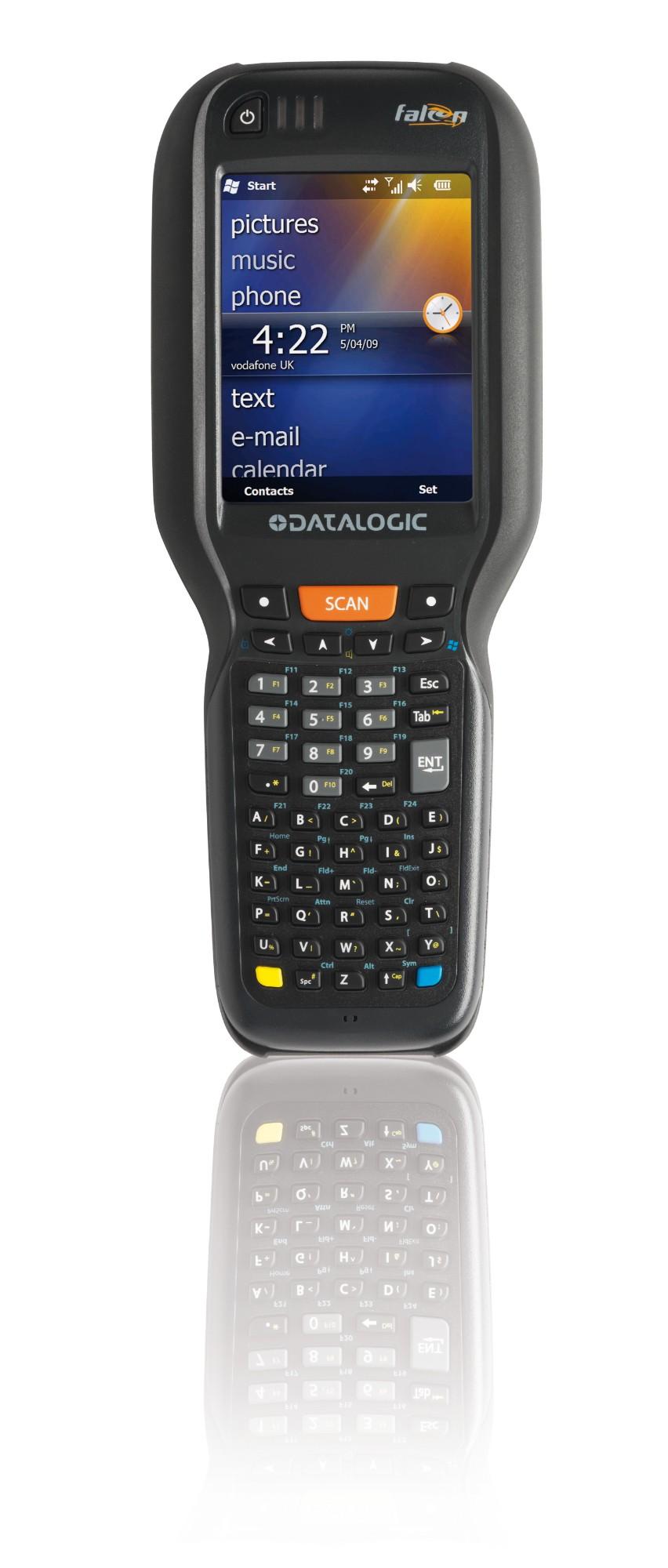 "Datalogic Falcon X3+ ordenador móvil industrial 8,89 cm (3.5"") 640 x 480 Pixeles Pantalla táctil 674 g Negro"