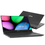 "Gigabyte AERO 17 HDR YA-9UK4750SQ Black Notebook 43.9 cm (17.3"") 3840 x 2160 pixels 9th gen Intel® Core™ i9 64 GB DDR4-SDRAM 1000 GB SSD Windows 10 Pro"