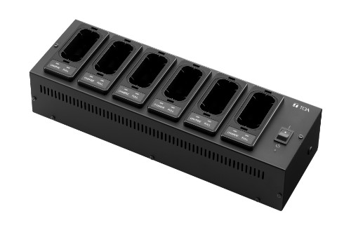 TOA BC-5000-6 Indoor battery charger Black battery charger