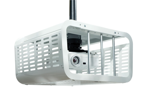 Peerless PE1120-W Security enclosure for projector-White (pole & ceiling plate sold separately)