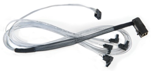 Microsemi ADAPTEC I-RA-HDMSAS-4RASATA-SB 0.8 m 6 Gbit/s