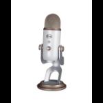 Blue Microphones Yeti USB Mic' -White