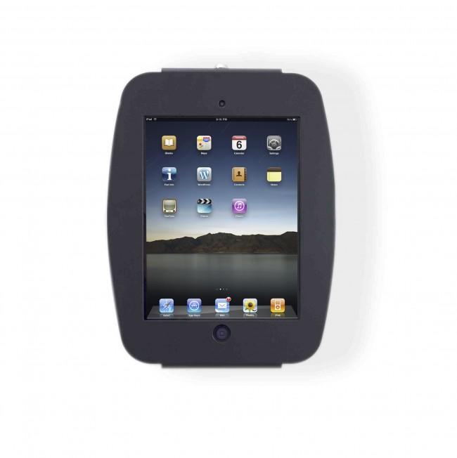 Maclocks Compulocks iPad Secure Space Enclosure Wall Mount Black - Mounting kit ( anti-theft enclosure, remov