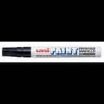 Uni-Ball Uni Paint Marker Medium Bullet Tip Black PK12