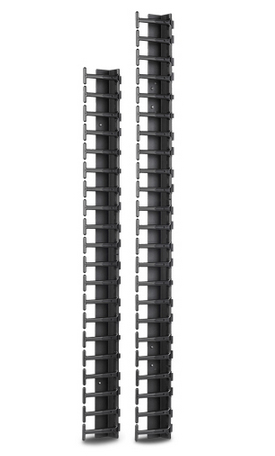APC AR7722 Straight cable tray Black