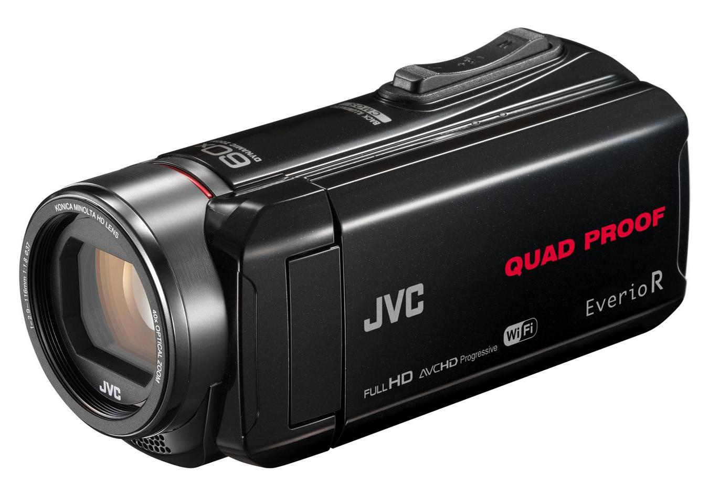 JVC GZ-RX645BEK hand-held camcorder