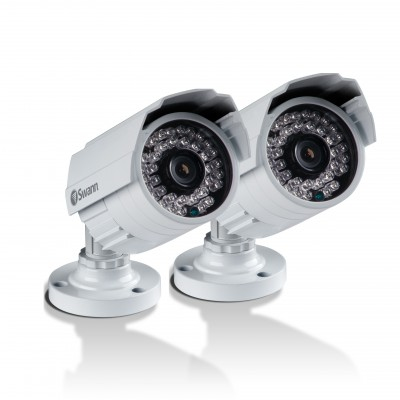 Swann PRO-842 CCTV security camera Indoor & outdoor Bullet White