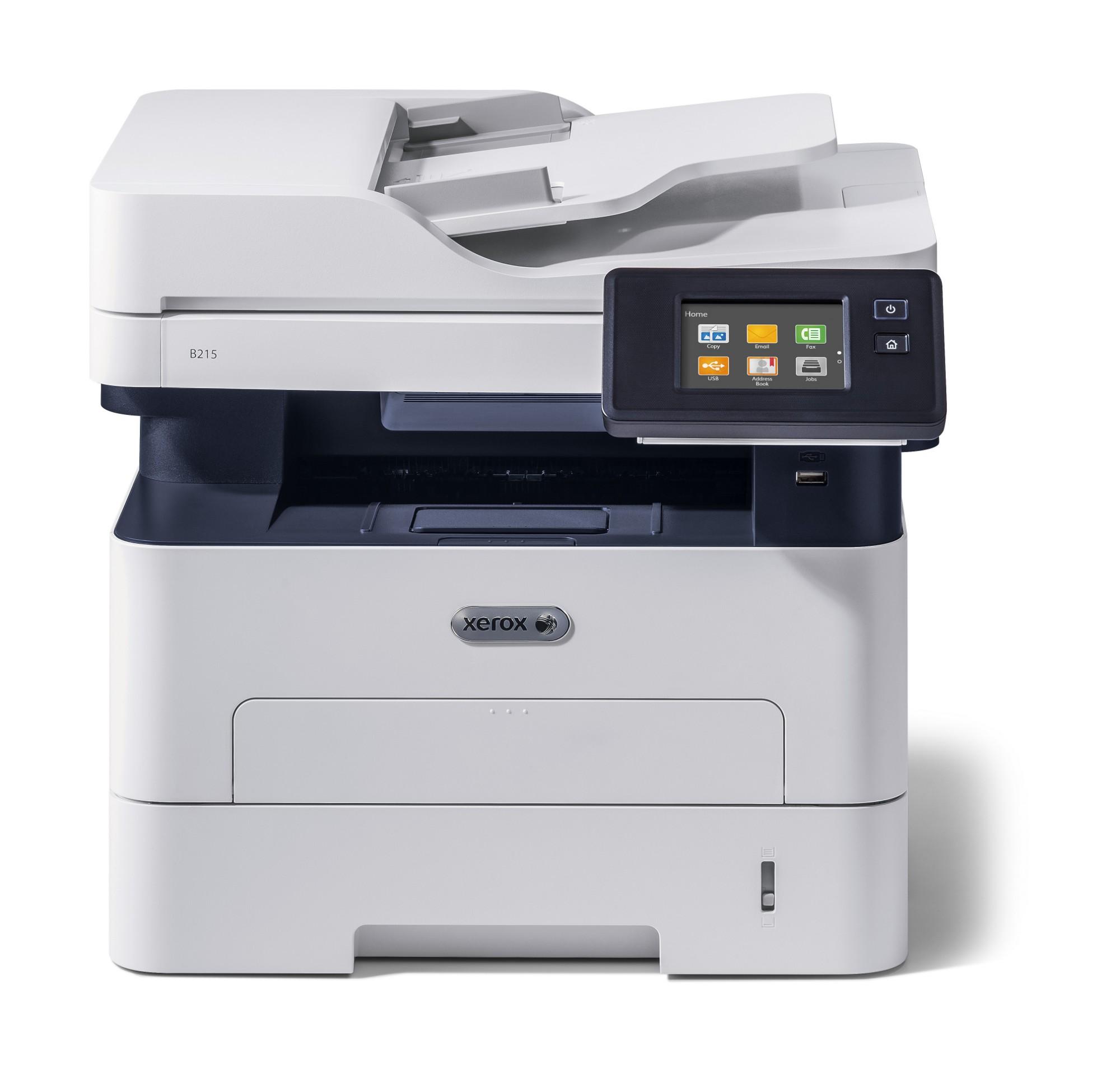 Xerox B215 A4 30Ppm Wireless Duplex Copy/Print/Scan/Fax Ps3 Pcl5E/6 Adf 2 Trays 251 Sheets