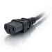 C2G 0.5m 18 AWG Computer Power Extension Cord (IEC320C13 to IEC320C14)