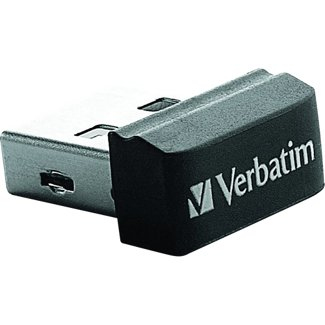 Verbatim 8GB Store' n' Go Nano USB 2.0 8GB USB 2.0 Black USB flash drive