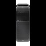 HP Z6 G4 Intel Xeon Silver 4208 32 GB DDR4-SDRAM 256 GB SSD Black Tower Workstation