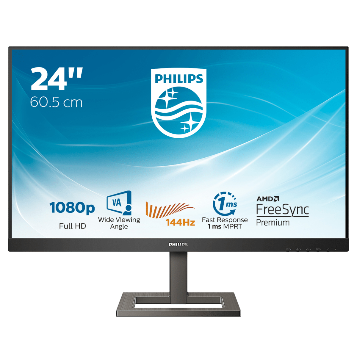 Philips E Line 242E1GAEZ/00 LED display 60.5 cm (23.8