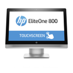 """HP EliteOne 800 G2 Touch 3.4GHz i7-6700 23"""" 1920 x 1080pixels Touchscreen Silver"""